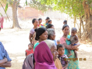 Well Drilling-Families Awaiting Water-Jatapara