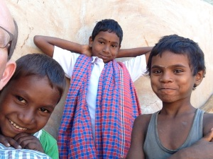 Dan & amp; Kids In Jatapara As Parents Learned Development