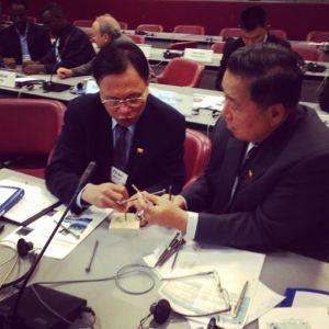 Myanmar Delegates