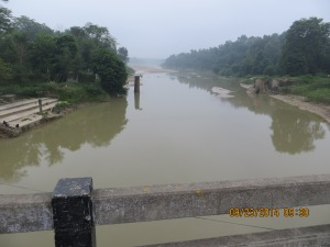 Cross River/Bridge Into India