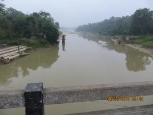 Cross River/Bridge Into India