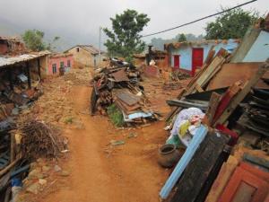 Nepal Nallu VDC Lalitpur for Relief Assessment 17 June '15