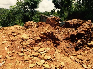 Total Destruction of Village Home