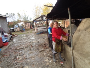 Women Cooking Outside-Albania