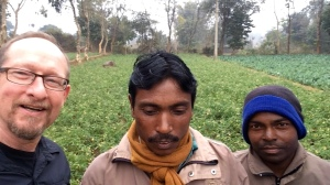 """Very """"close"""" to """"Ranch"""" farmers 15 kilometers outside Ranchi, India"""