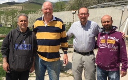 Abram-Gary-Dan-Haig A & H are 1st 2 residents of HoE -  Spitak, Armenia