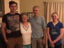 Jonathan(20), Grandma, Bryan(17) & Eliana(15)